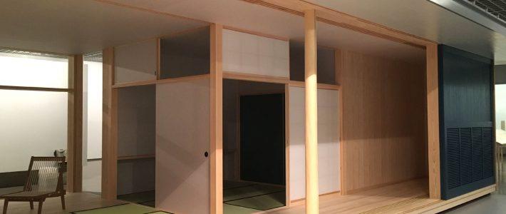 「日本の家」展@近美にて